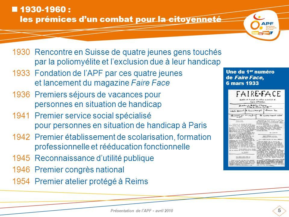 1930-1960 : les prémices d'un combat pour la citoyenneté