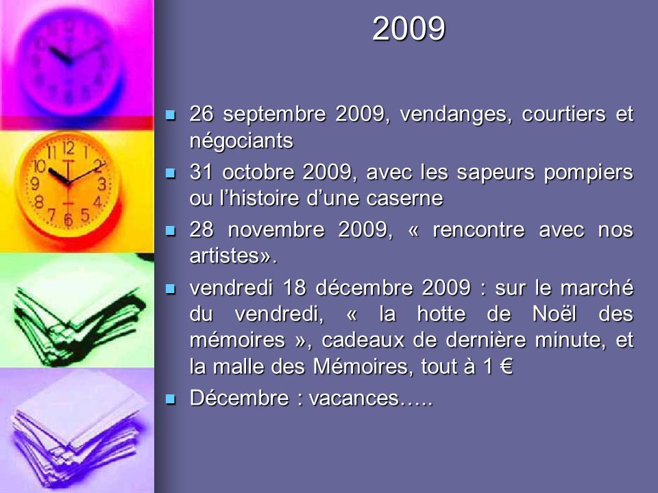2009 26 septembre 2009, vendanges, courtiers et négociants