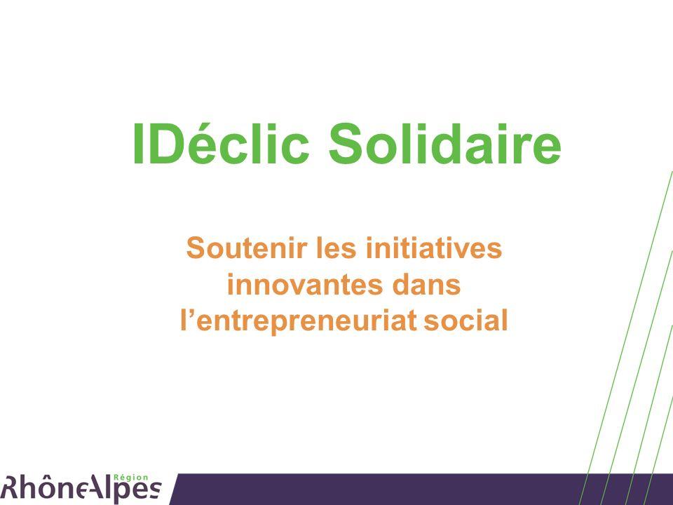 Soutenir les initiatives innovantes dans l'entrepreneuriat social