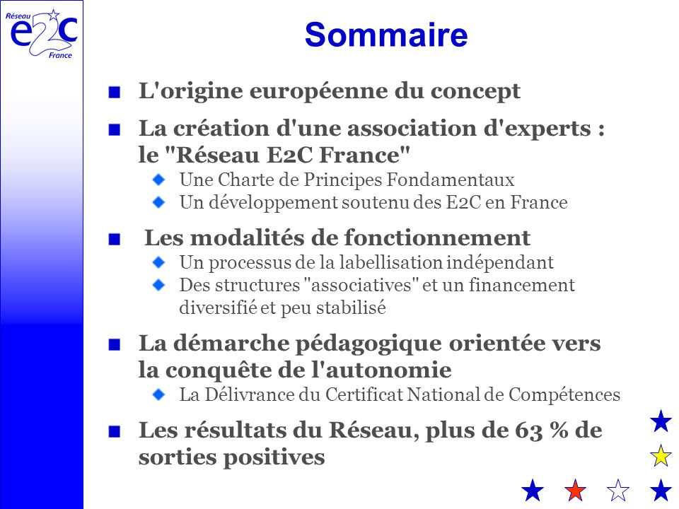 Sommaire L origine européenne du concept