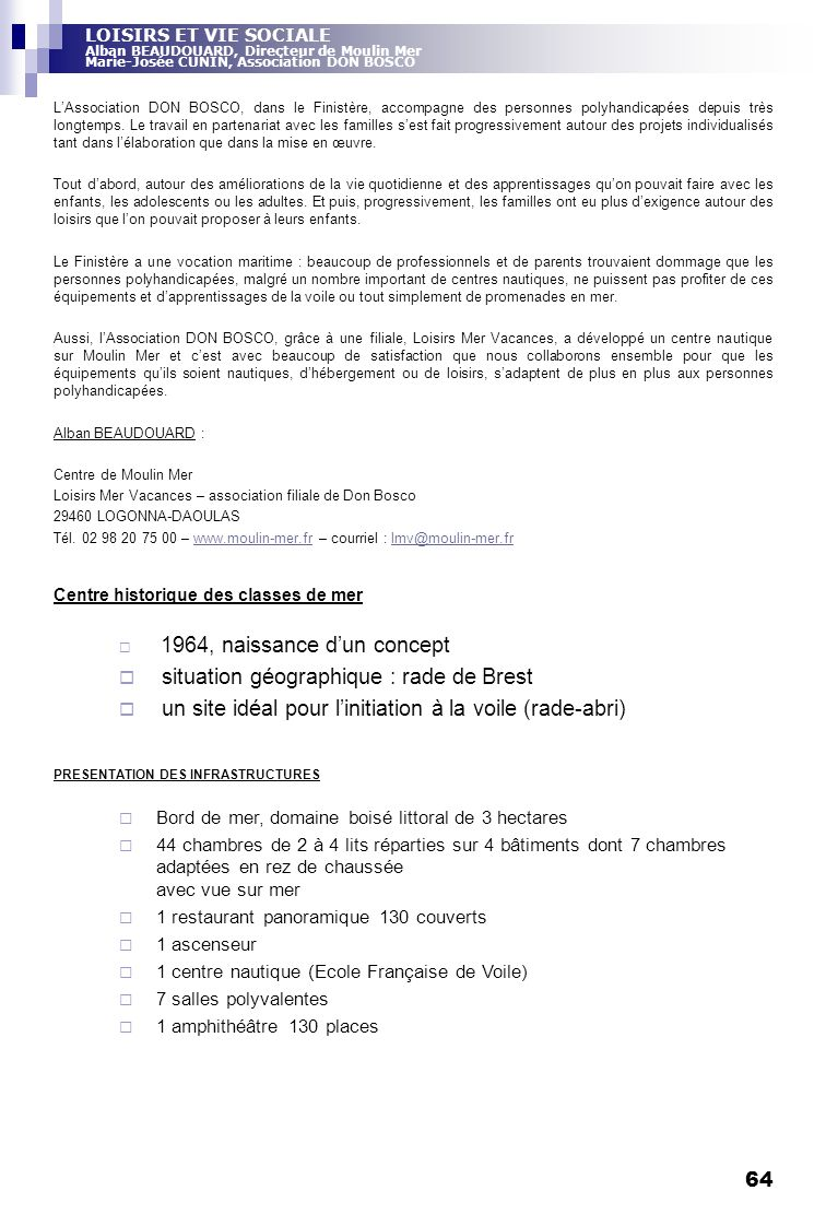 situation géographique : rade de Brest