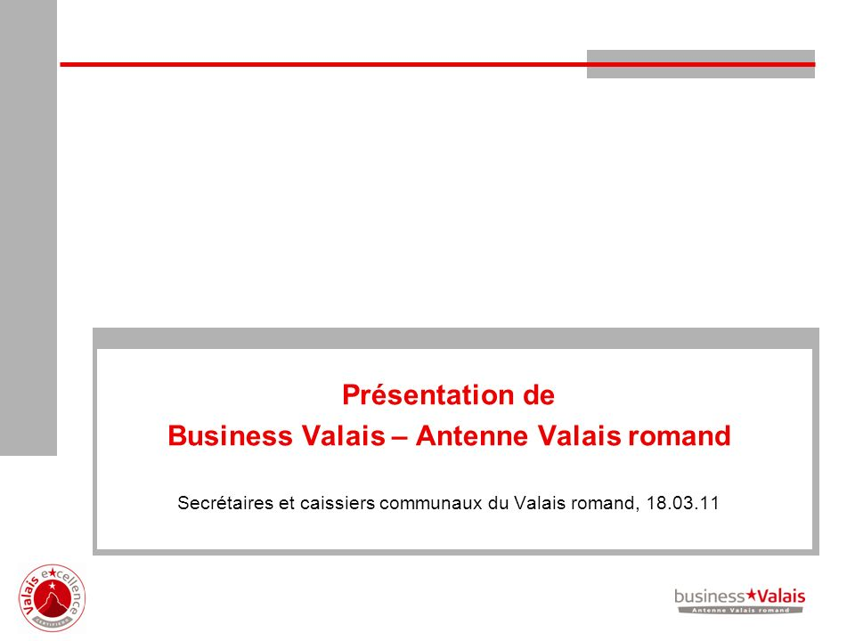 Business Valais – Antenne Valais romand
