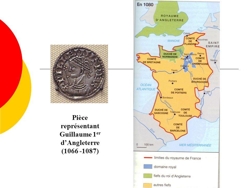 Pièce représentant Guillaume 1er d'Angleterre
