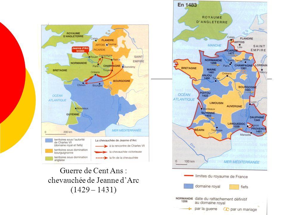 chevauchée de Jeanne d'Arc