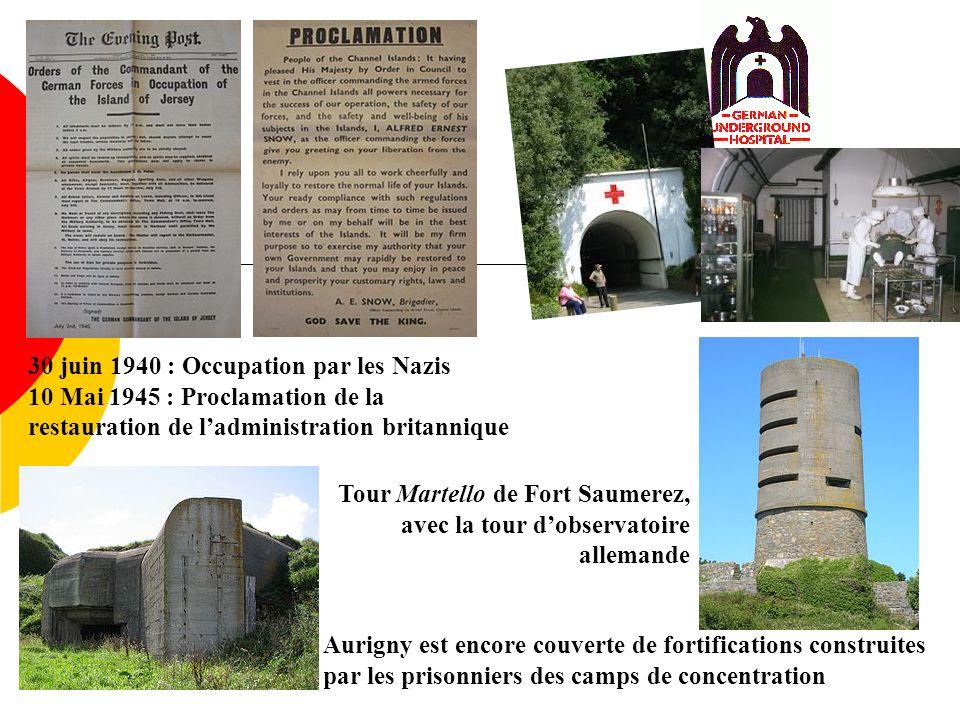 30 juin 1940 : Occupation par les Nazis