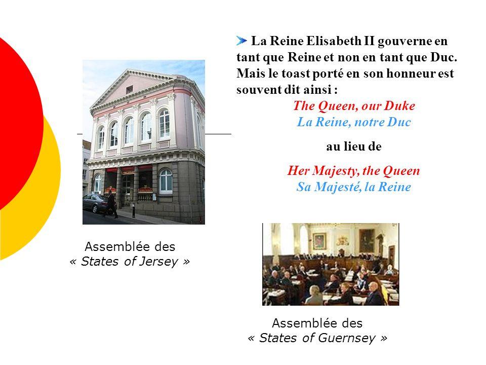 Assemblée des « States of Jersey »