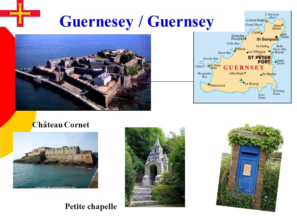 Guernesey / Guernsey Château Cornet Petite chapelle