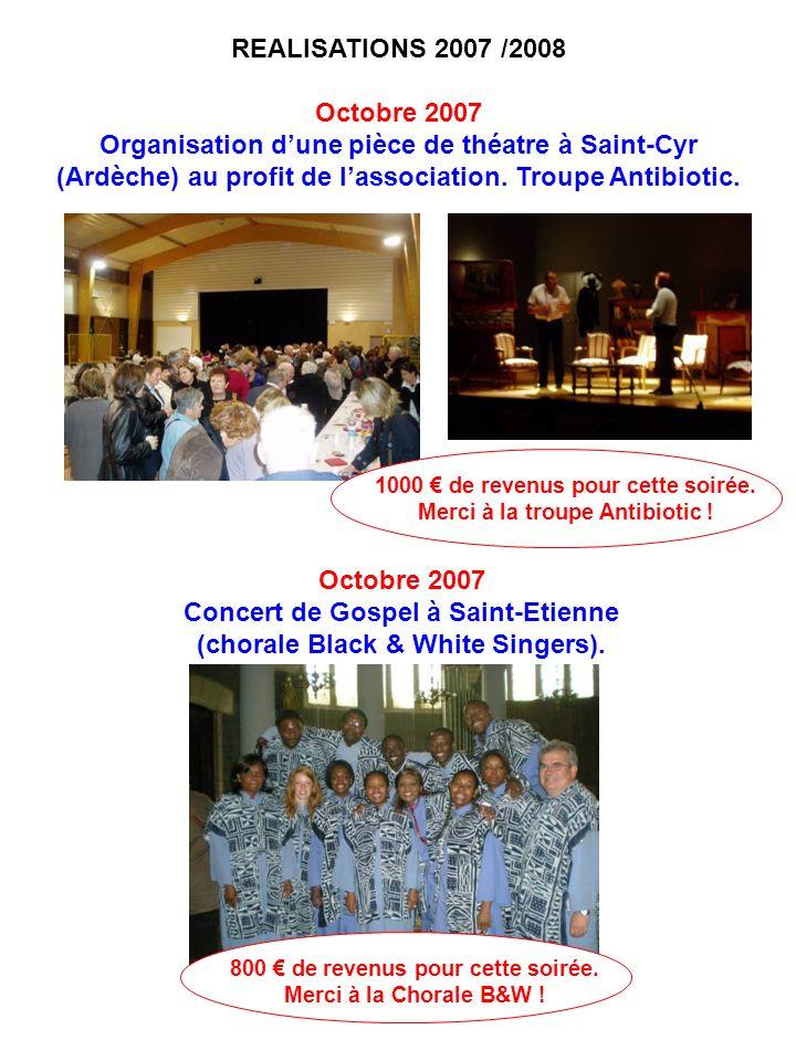 Concert de Gospel à Saint-Etienne (chorale Black & White Singers).