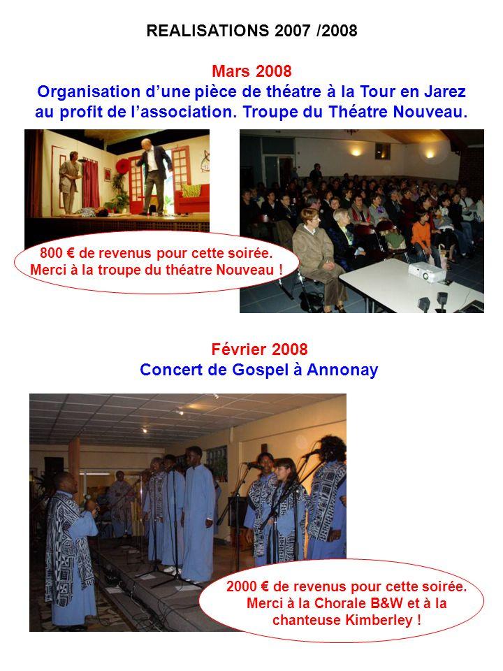 Organisation d'une pièce de théatre à la Tour en Jarez