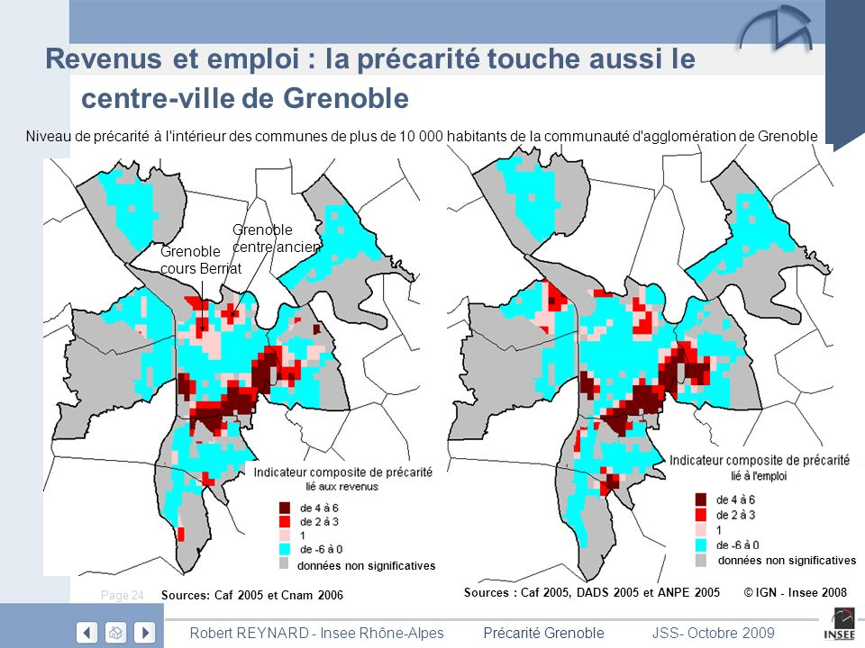 Revenus et emploi : la précarité touche aussi le centre-ville de Grenoble