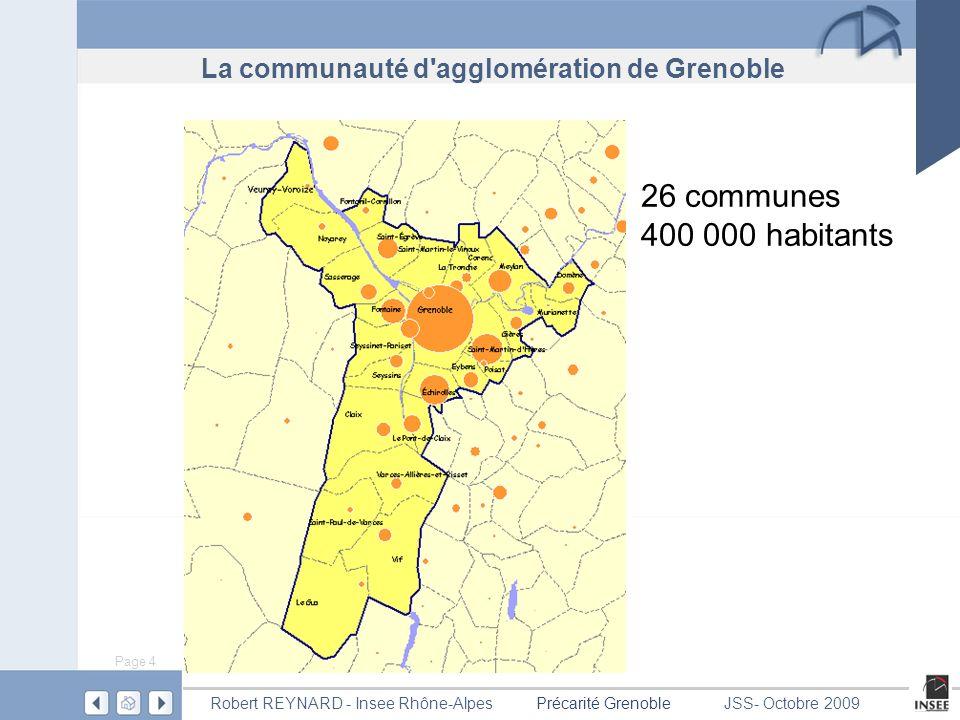 La communauté d agglomération de Grenoble