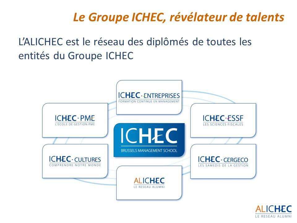 Le Groupe ICHEC, révélateur de talents
