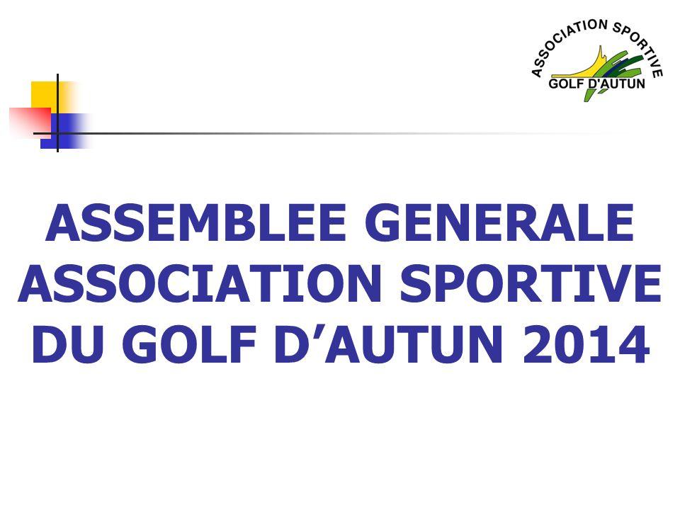 ASSEMBLEE GENERALE ASSOCIATION SPORTIVE DU GOLF D'AUTUN 2014