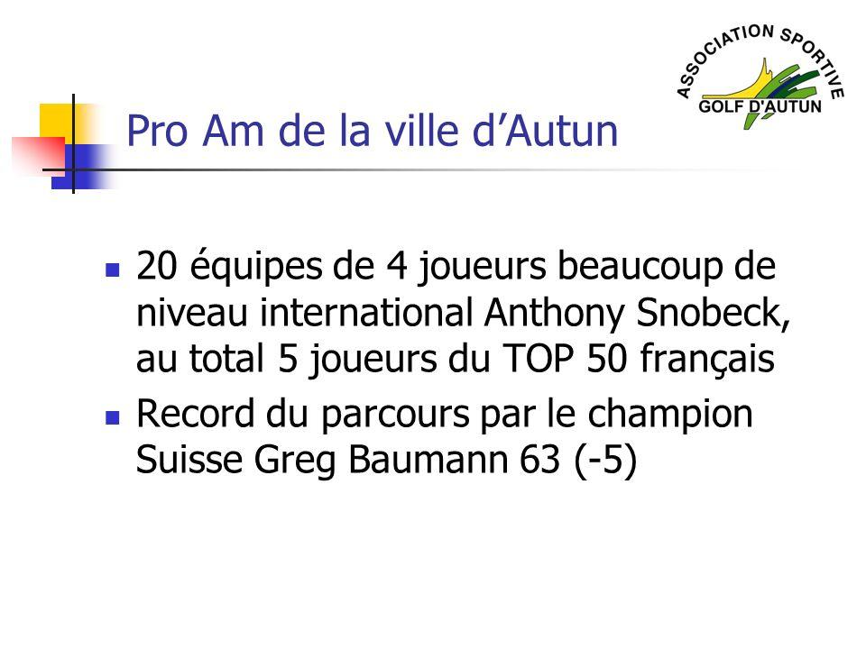 Pro Am de la ville d'Autun