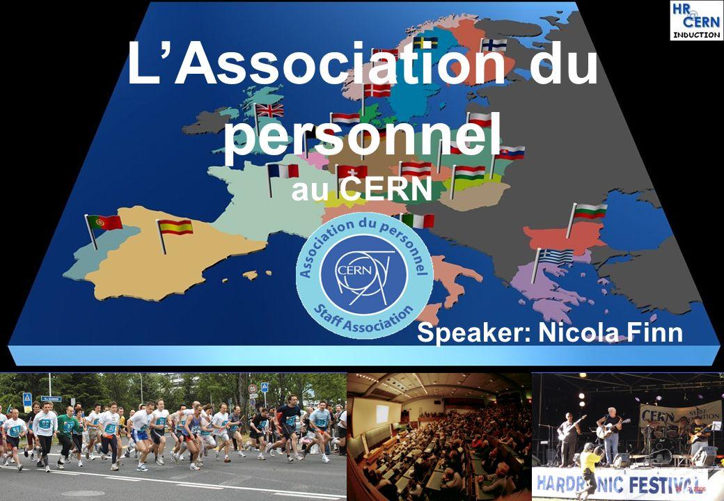 L'Association du personnel au CERN
