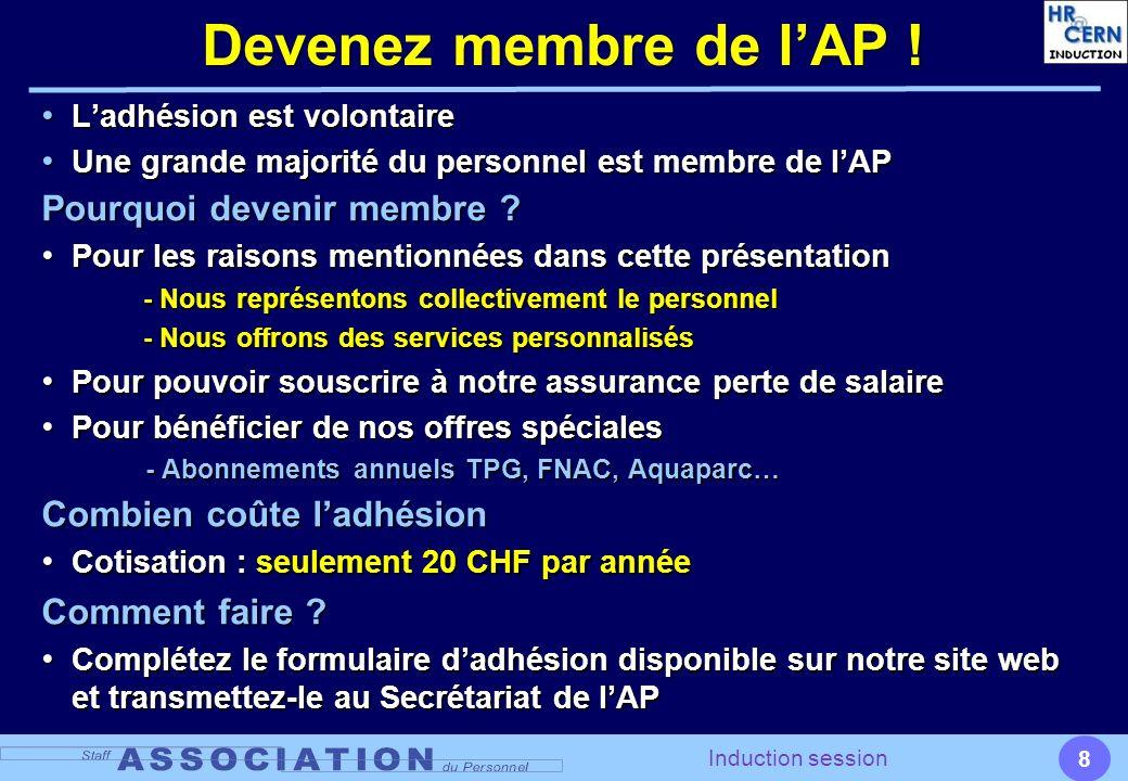 Devenez membre de l'AP ! Pourquoi devenir membre