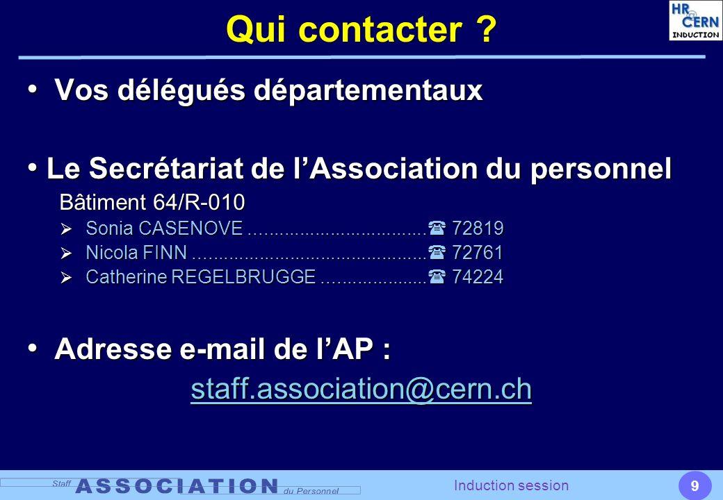 Qui contacter Vos délégués départementaux