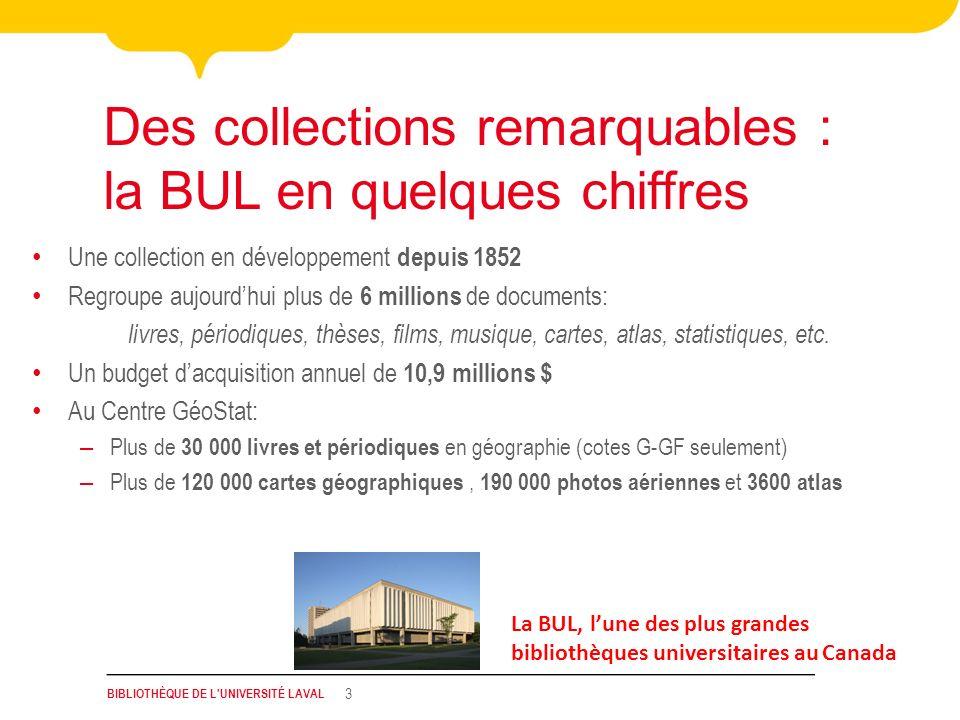 Des collections remarquables : la BUL en quelques chiffres