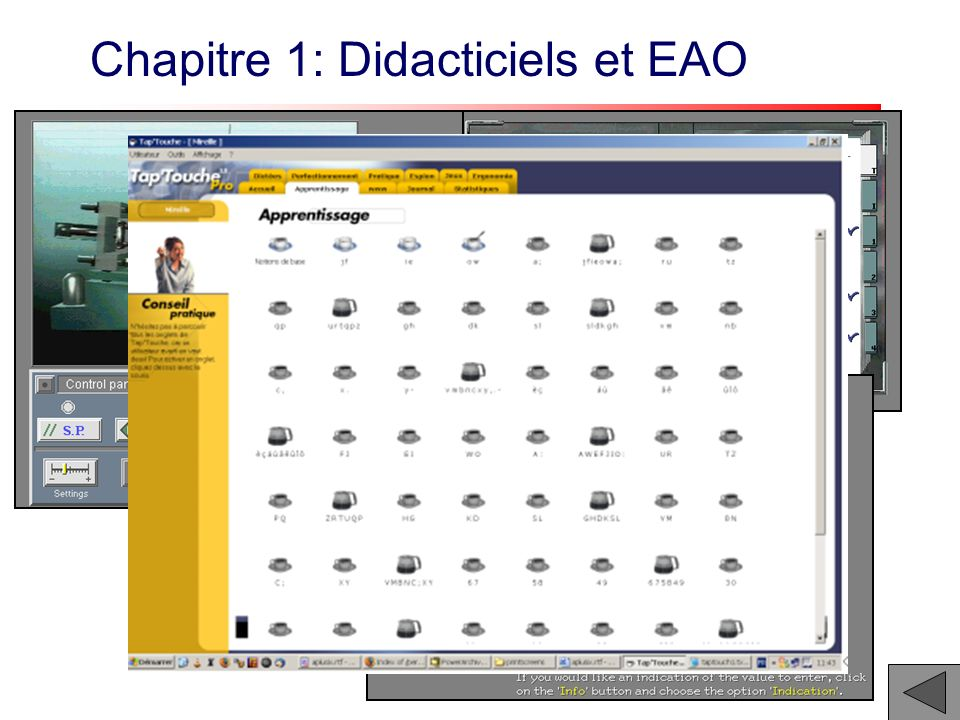 Chapitre 1: Didacticiels et EAO