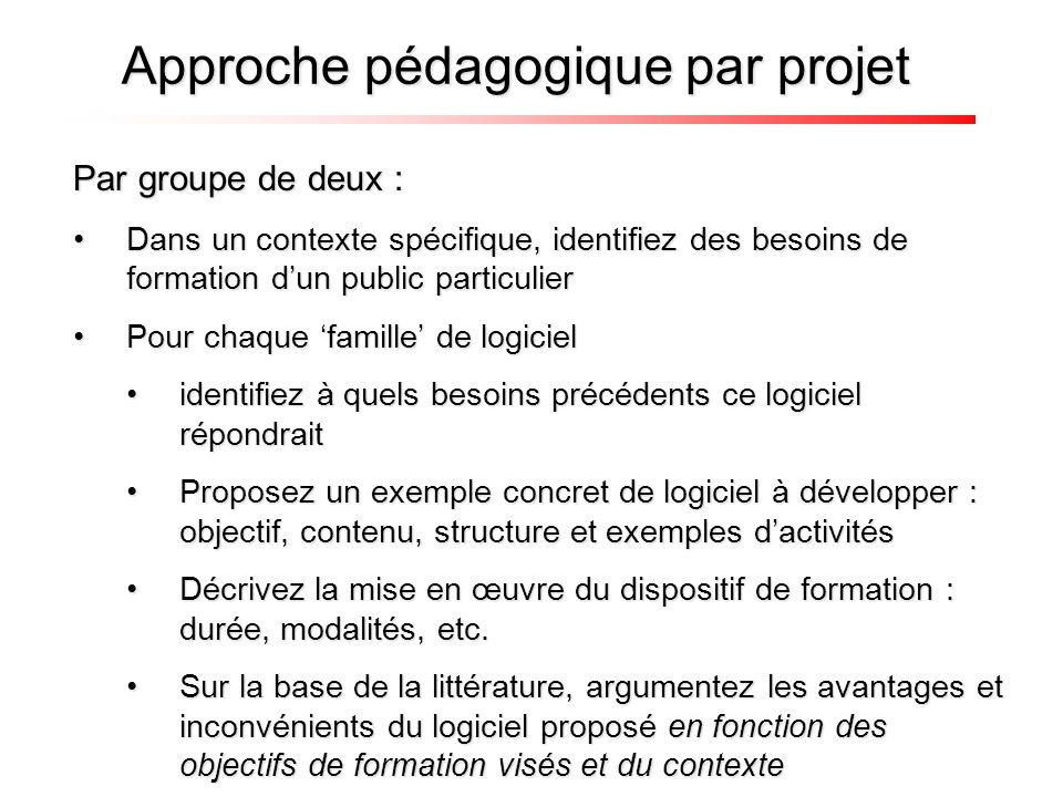 Approche pédagogique par projet