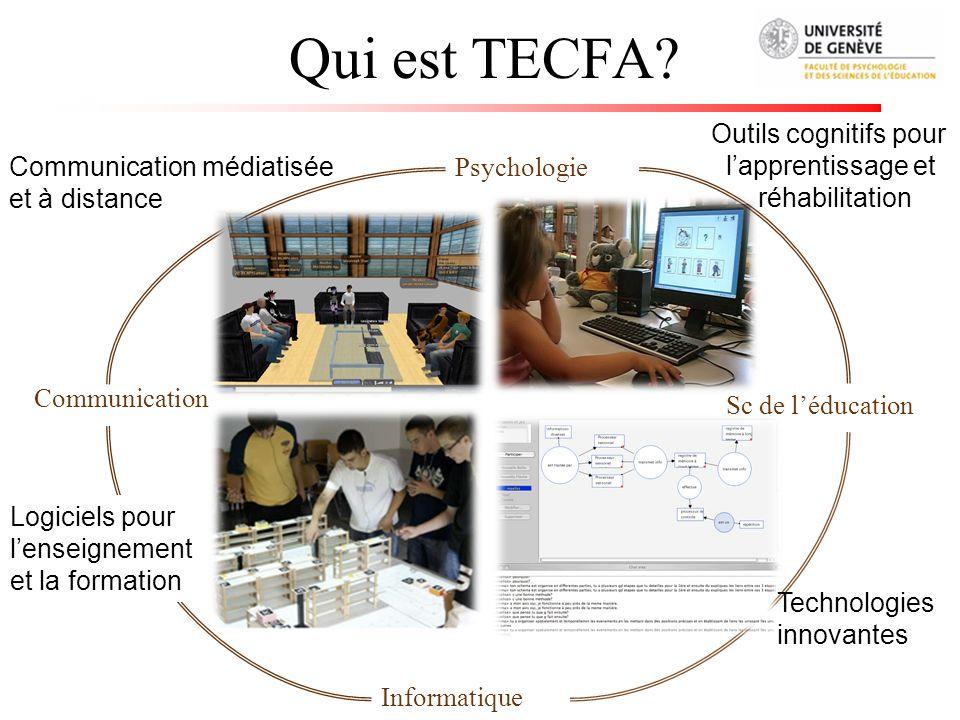 Qui est TECFA Outils cognitifs pour l'apprentissage et réhabilitation