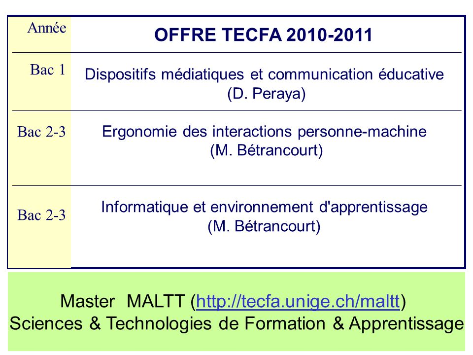 Master MALTT (http://tecfa.unige.ch/maltt)