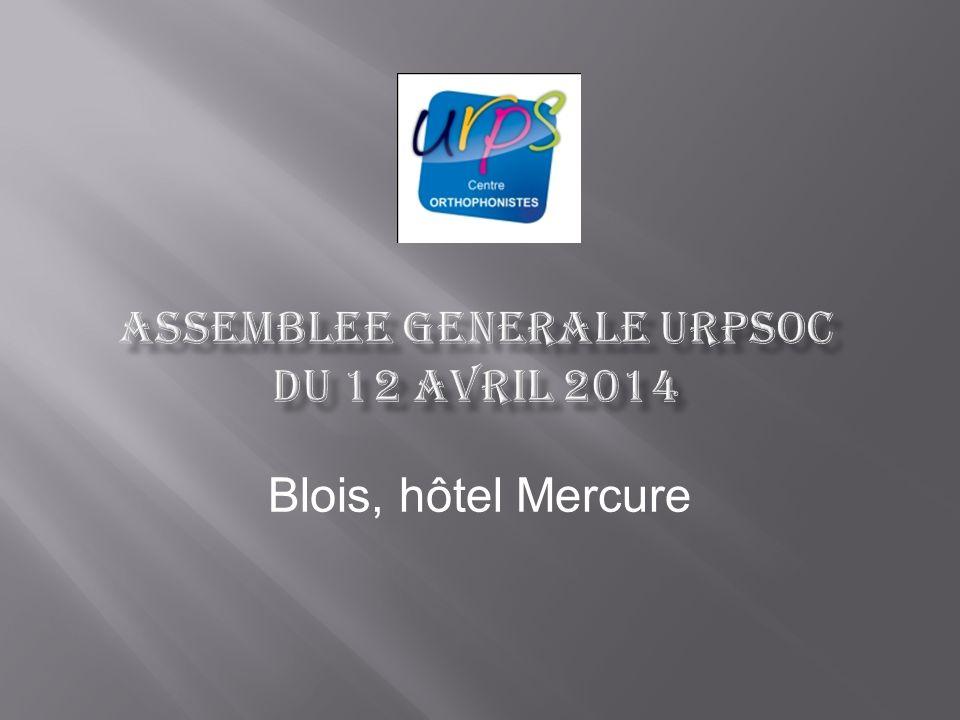 ASSEMBLEE GENERALE URPSOC du 12 avril 2014