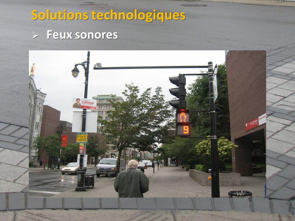 Solutions technologiques