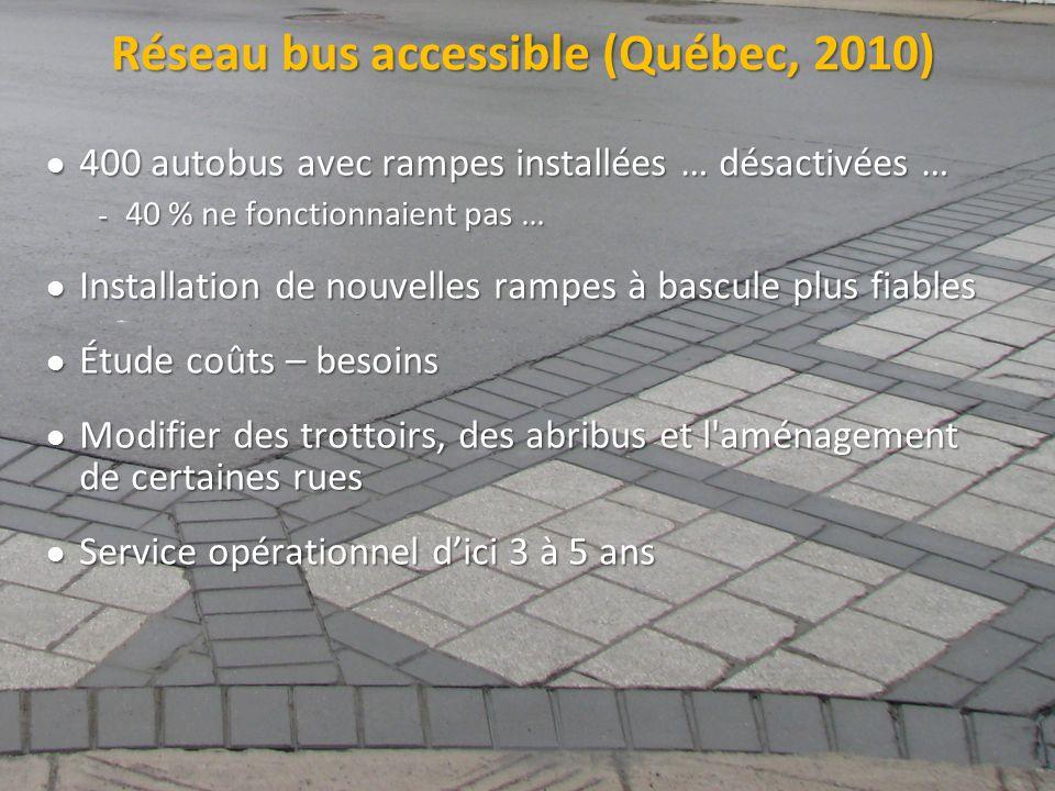 Réseau bus accessible (Québec, 2010)