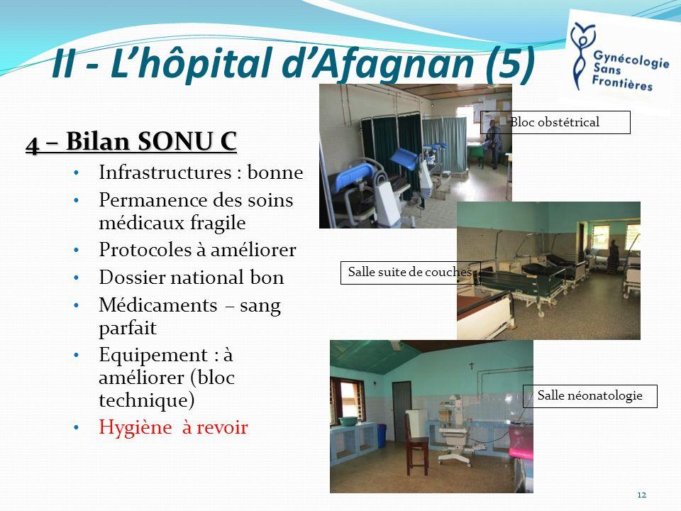 II - L'hôpital d'Afagnan (5)