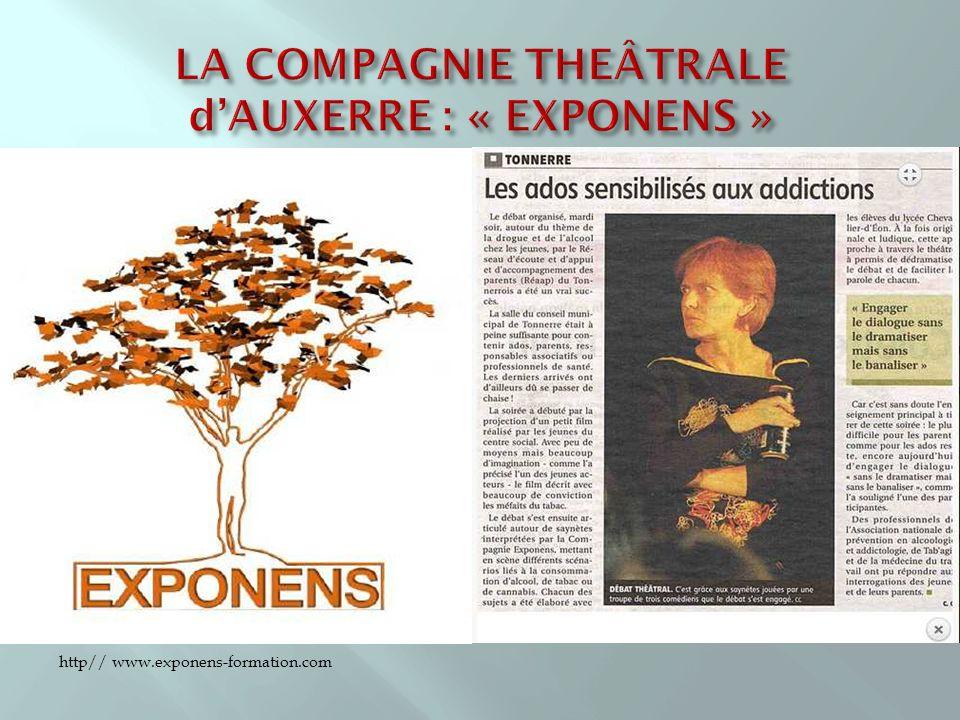 LA COMPAGNIE THEÂTRALE d'AUXERRE : « EXPONENS »