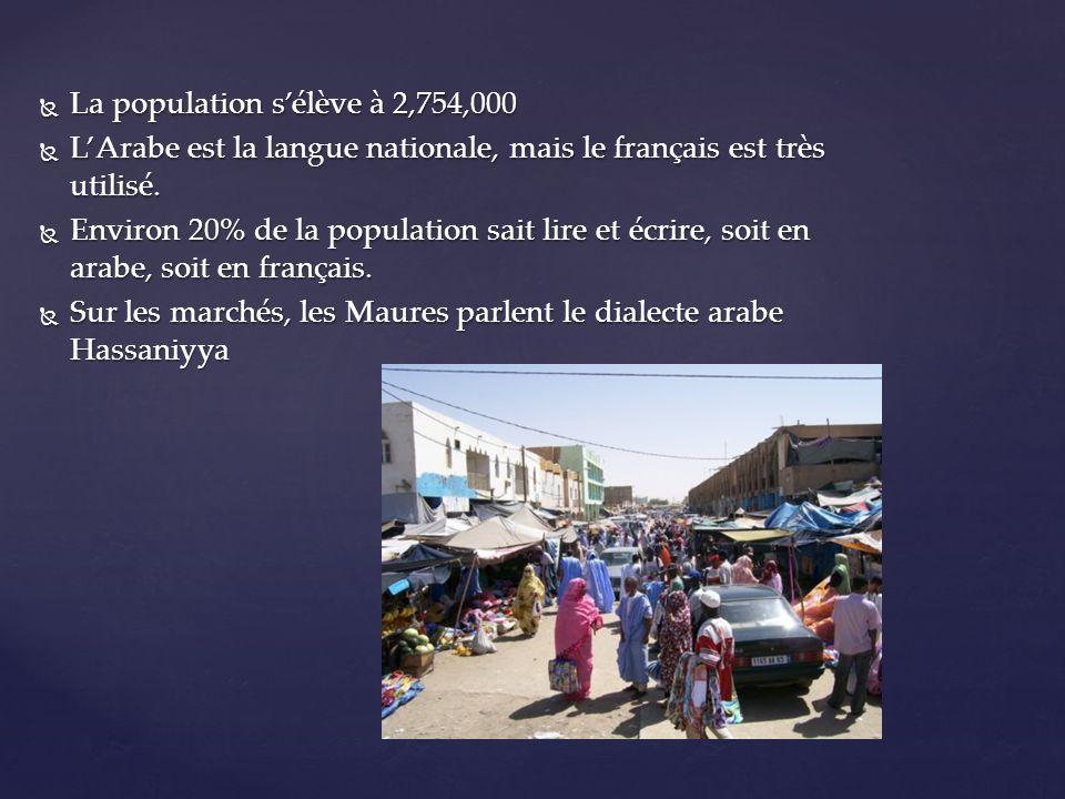 La population s'élève à 2,754,000
