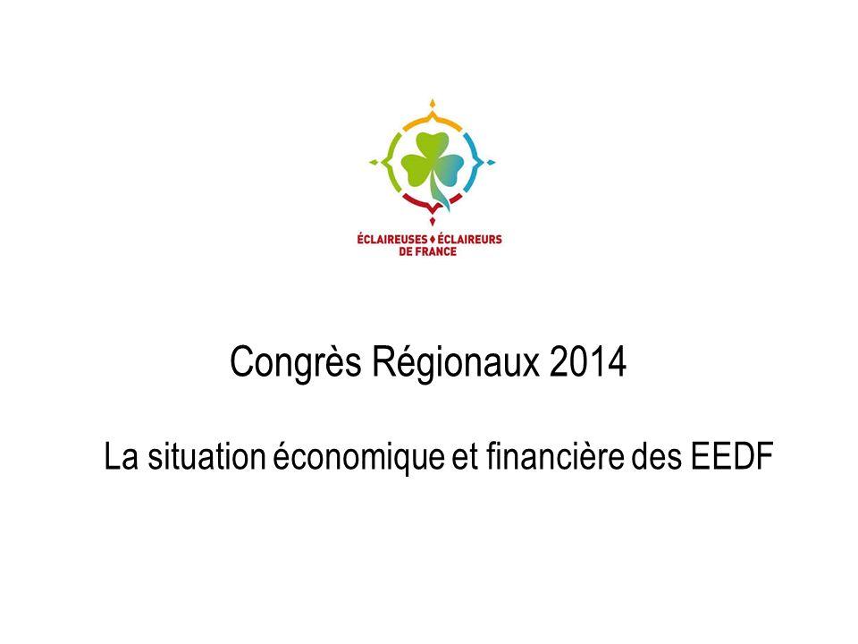 La situation économique et financière des EEDF