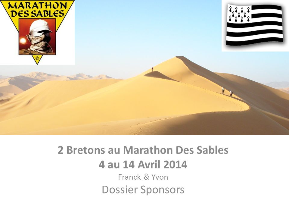 2 Bretons au Marathon Des Sables