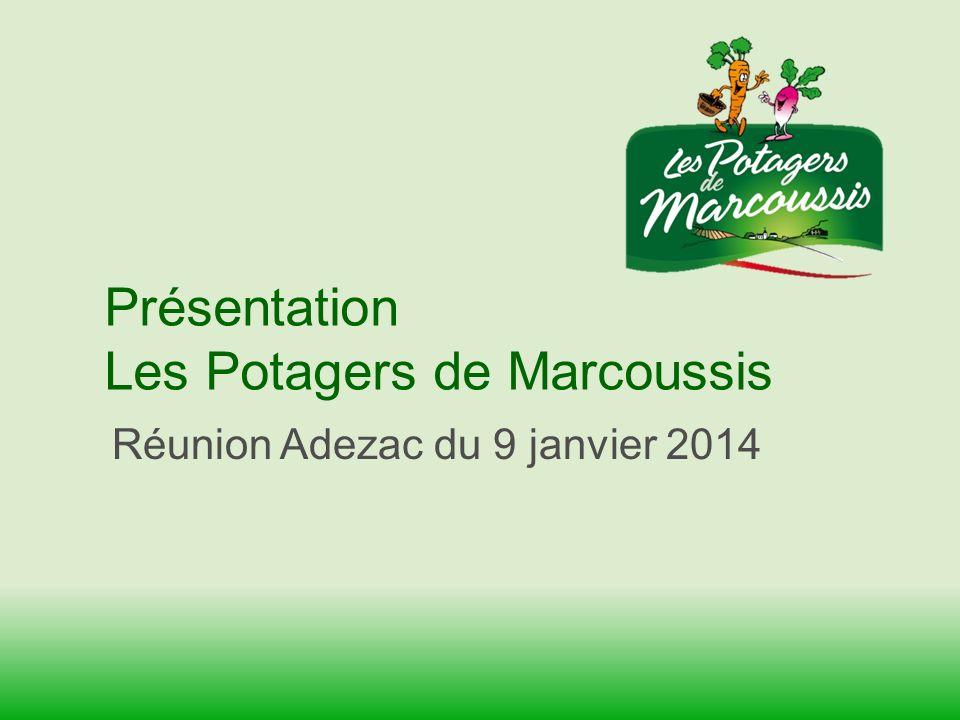 Présentation Les Potagers de Marcoussis