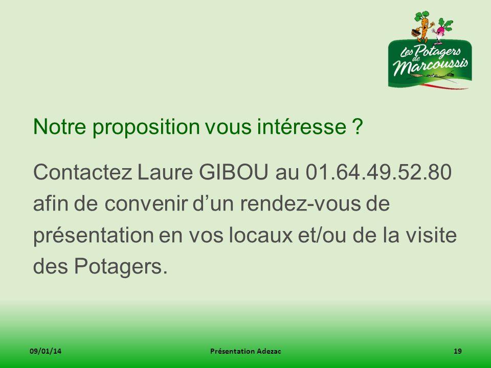 Notre proposition vous intéresse