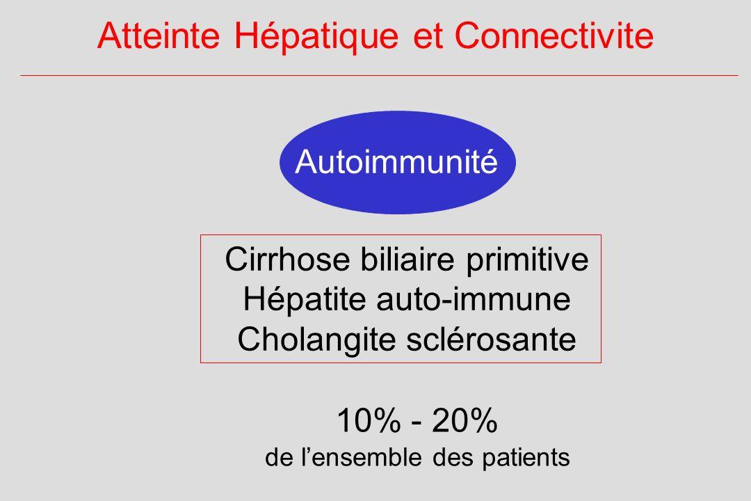 Atteinte Hépatique et Connectivite