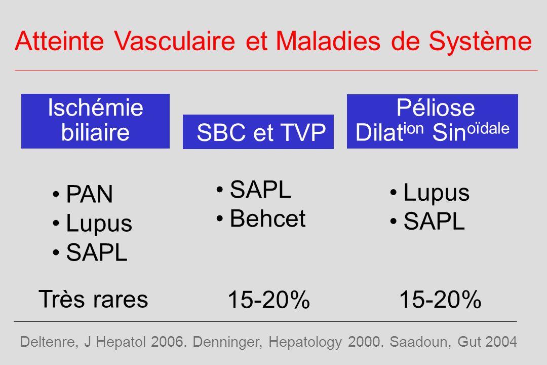 Atteinte Vasculaire et Maladies de Système