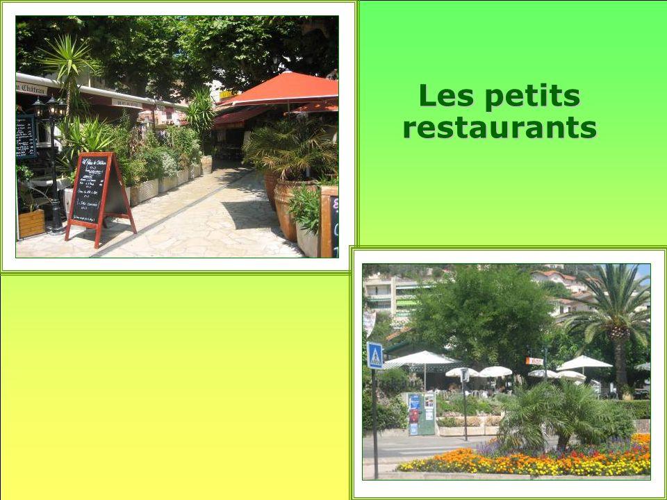 Les petits restaurants