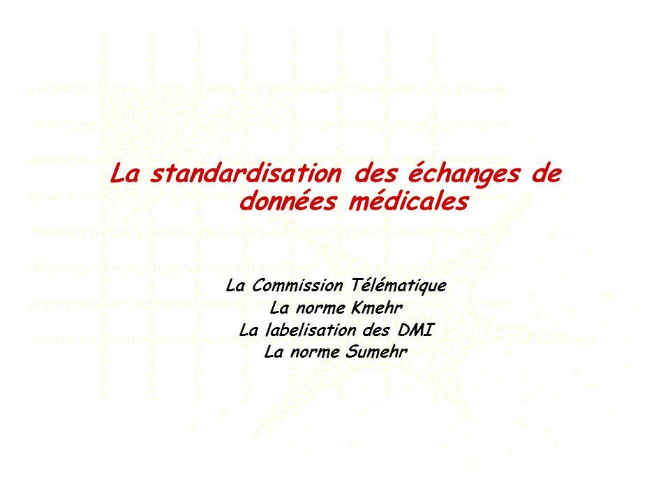 La standardisation des échanges de données médicales