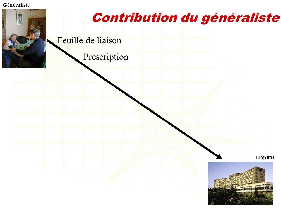 Contribution du généraliste
