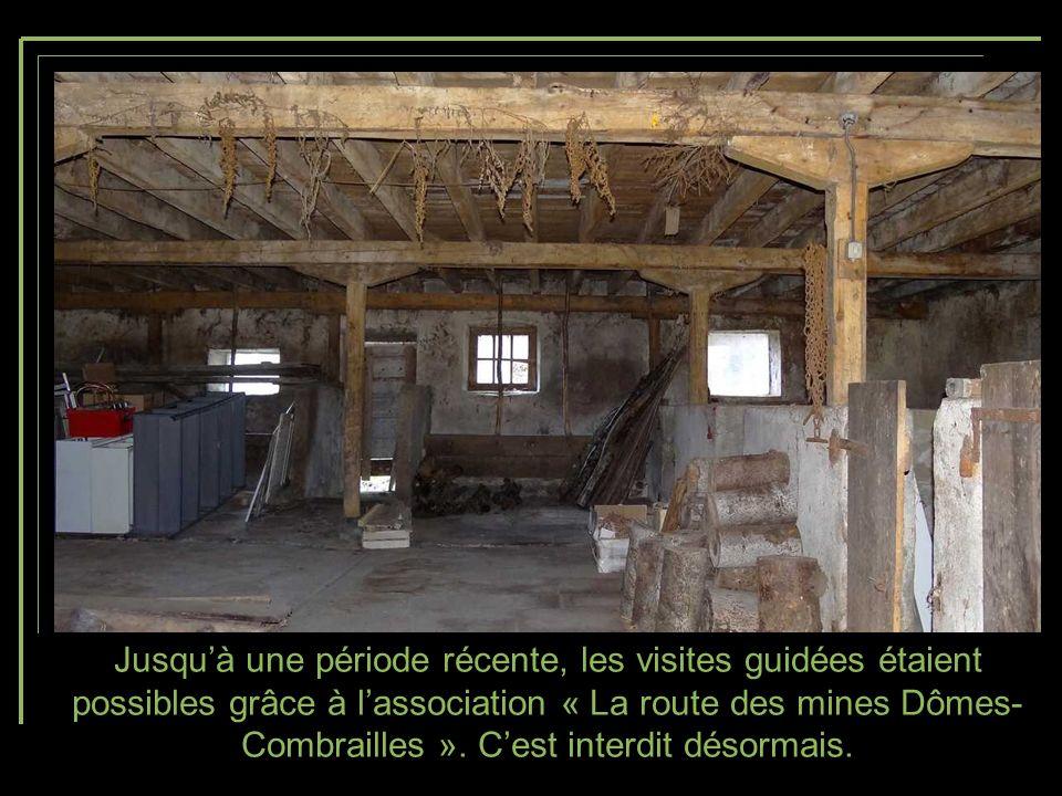 Jusqu'à une période récente, les visites guidées étaient possibles grâce à l'association « La route des mines Dômes-Combrailles ».