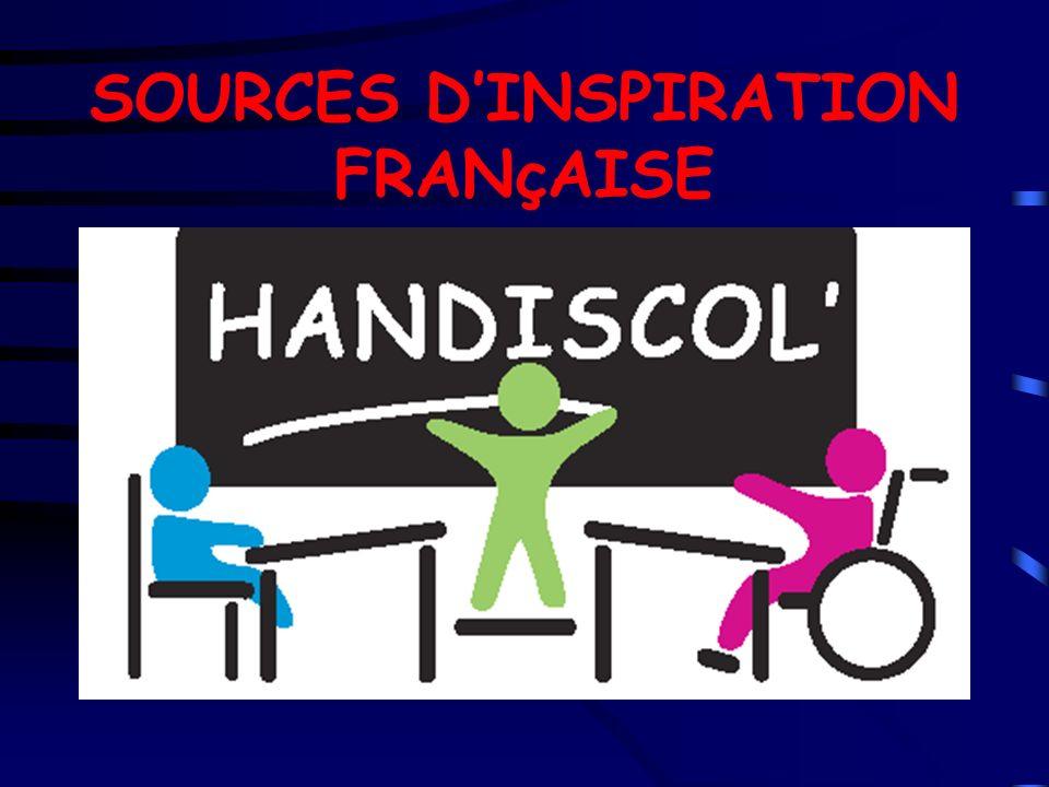 SOURCES D'INSPIRATION FRANçAISE