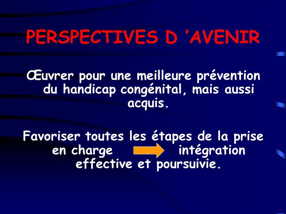 PERSPECTIVES D 'AVENIR
