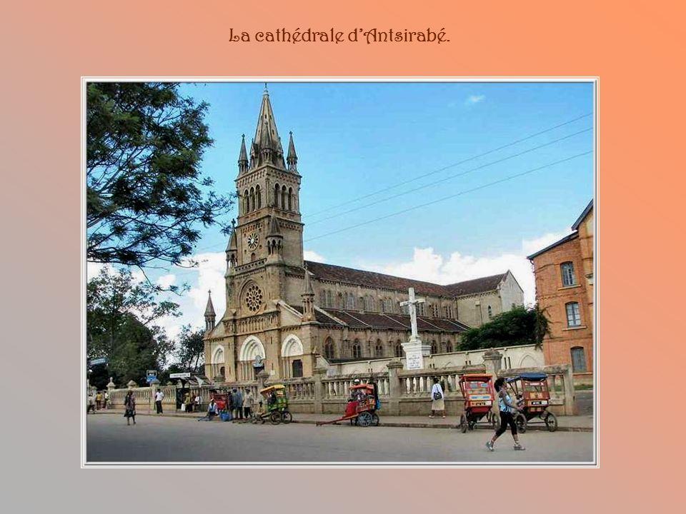 La cathédrale d'Antsirabé.