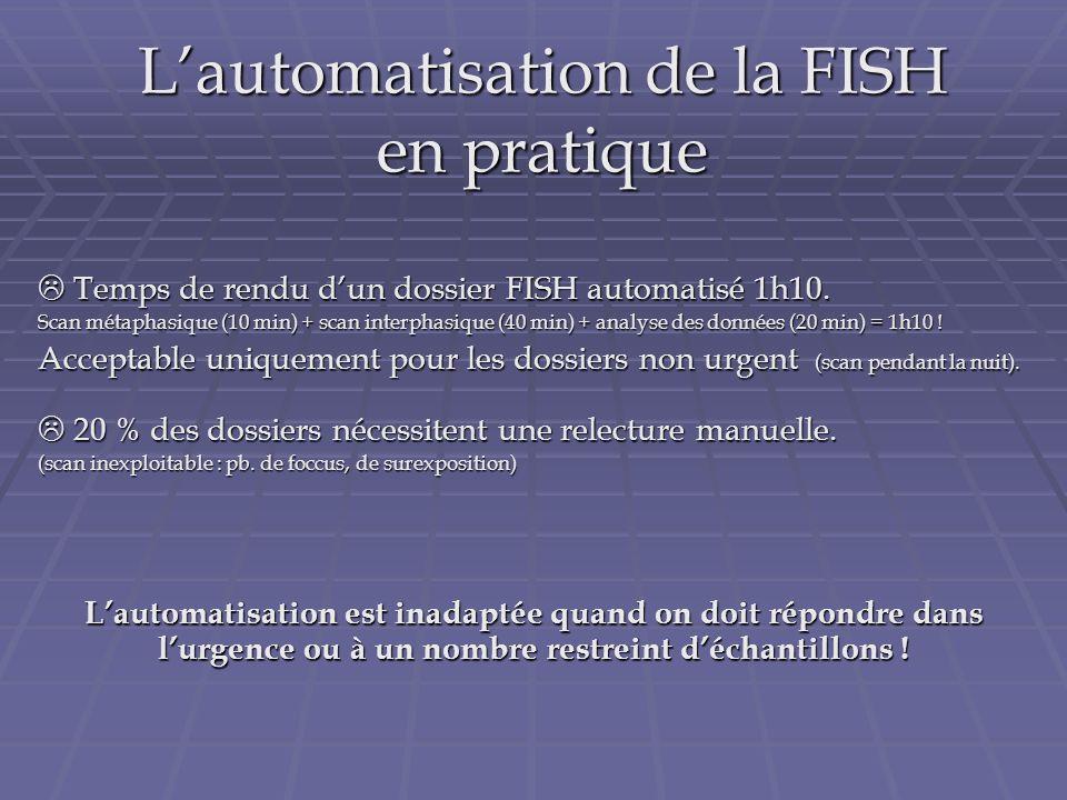 L'automatisation de la FISH en pratique