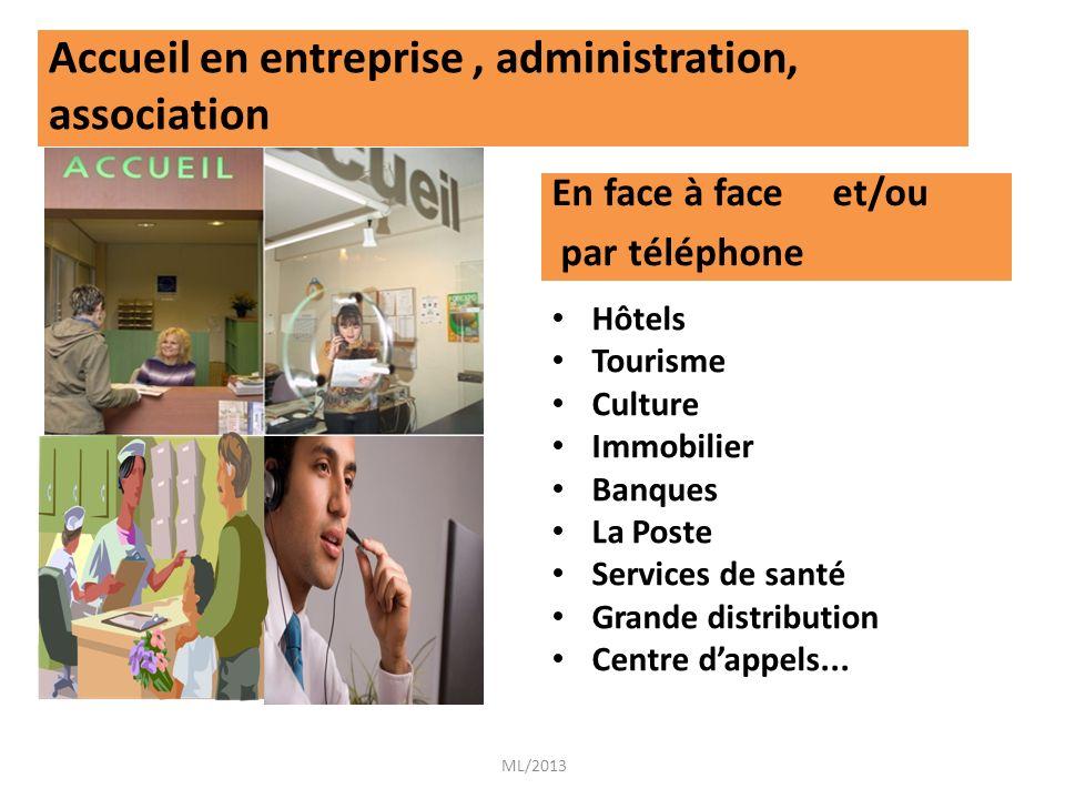 Accueil en entreprise , administration, association