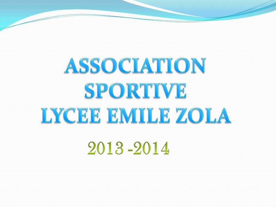 ASSOCIATION SPORTIVE LYCEE EMILE ZOLA