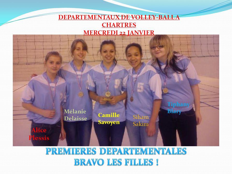 DEPARTEMENTAUX DE VOLLEY-BALL A CHARTRES PREMIERES DEPARTEMENTALES
