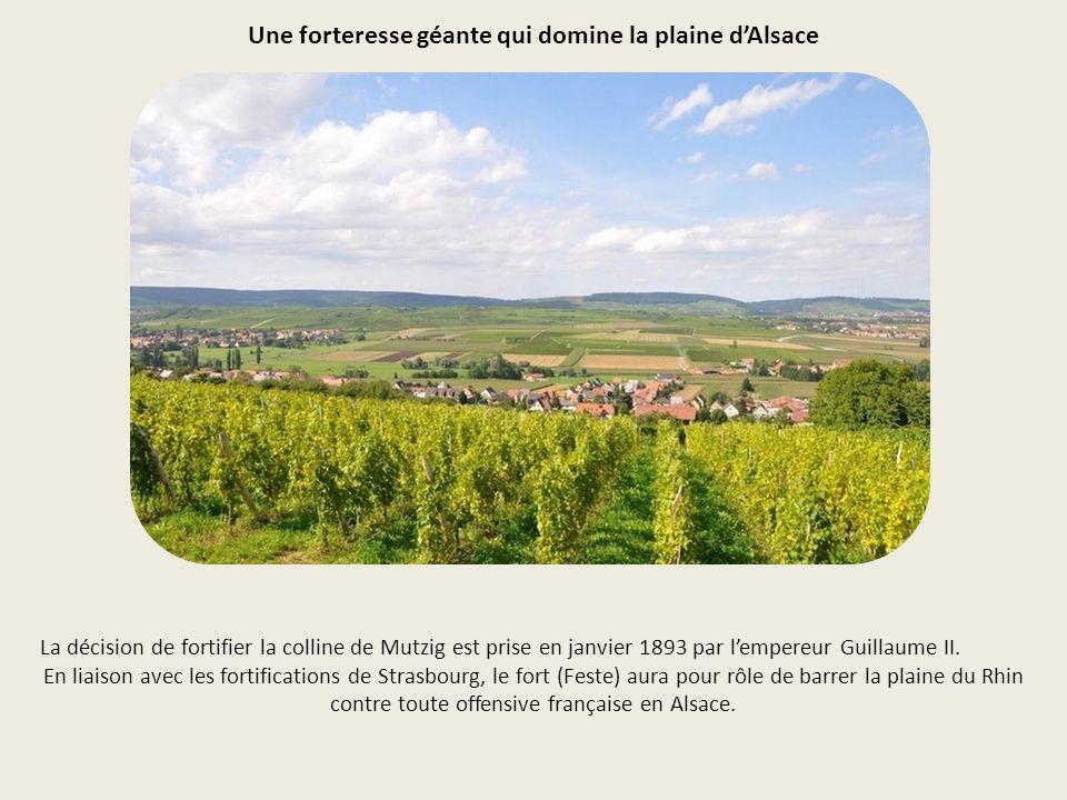 Une forteresse géante qui domine la plaine d'Alsace